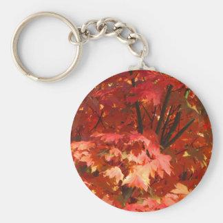 Autumn in Canberra Basic Round Button Keychain