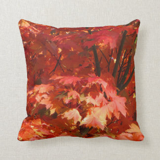 Autumn in Canberra Throw Pillows