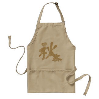 Autumn in Chinese Apron