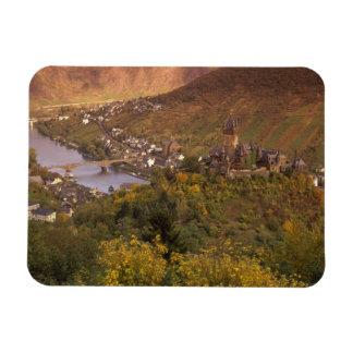 Autumn in Cochem, Rheinland Pfalz, Germany Rectangular Photo Magnet