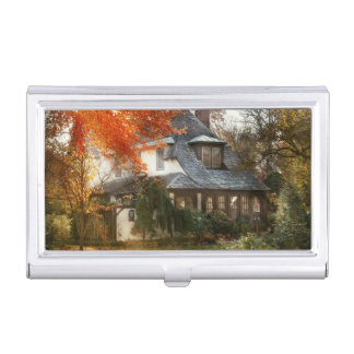 Autumn - In every fairy tale Business Card Holder
