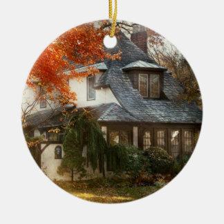 Autumn - In every fairy tale Ceramic Ornament