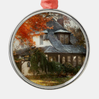 Autumn - In every fairy tale Metal Ornament