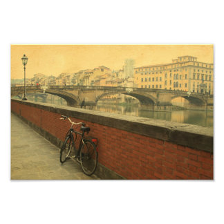 Autumn in Florence, vintage Photo