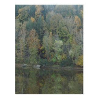 Autumn in Kentucky Cumberland Falls Postcard