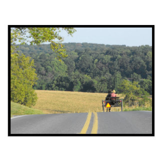 ~ Autumn in Lancaster County ~ 63 Postcard