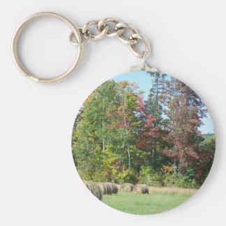 Autumn In Maine Keychain
