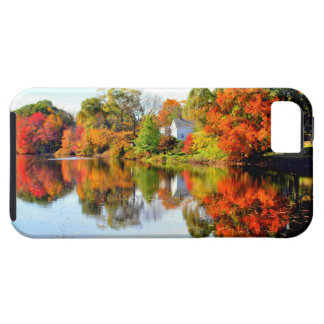 AUTUMN IN NEW ENGLAND iPhone 5 CASE