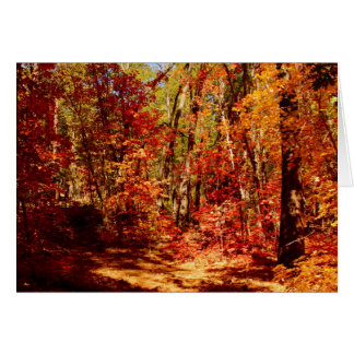 Autumn in New Mexico Card