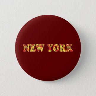 Autumn in New York 2 Inch Round Button