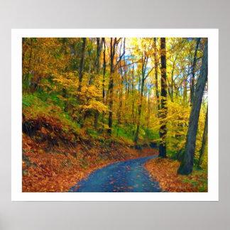 Autumn in Pennsylvania Poster