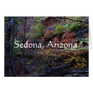 Autumn in Sedona, Arizona Card