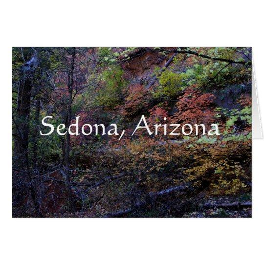 Autumn in Sedona, Arizona Card