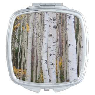 Autumn in the Aspen's Compact Mirrors