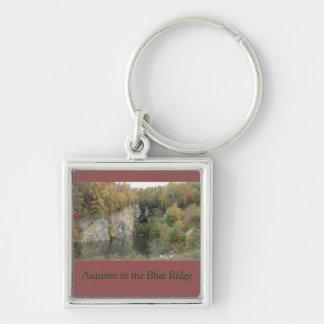 Autumn in the Blue Ridge Mountains Key Chain