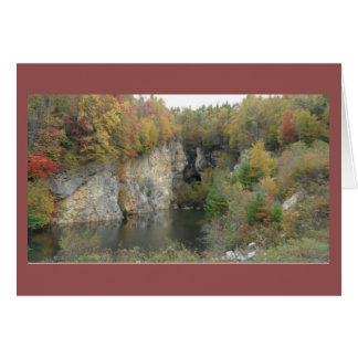 Autumn in the Blue Ridge Mountains Notecard Greeting Card