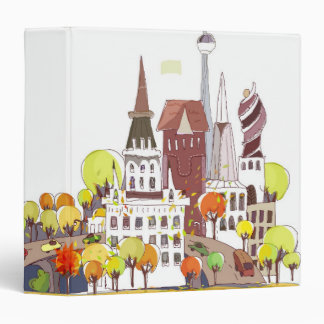Autumn In The City Binder