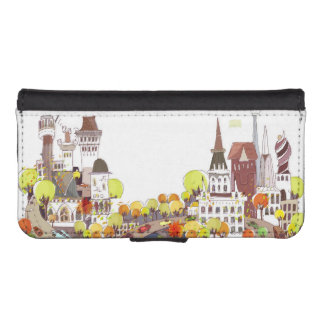 Autumn In The City iPhone 5 Wallets