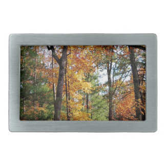 Autumn In The Forest Belt Buckles