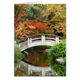 Autumn in the Japanese Gardens Card