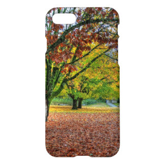 Autumn in the Park iPhone 7 Case