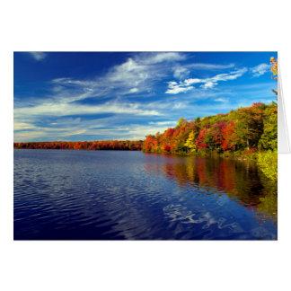 Autumn In The Poconos Card