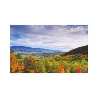 Autumn in the Smokies Canvas Print