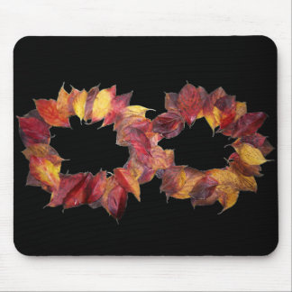 Autumn Infinity Mouse Pad