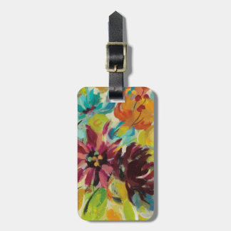 Autumn Joy Flowers Bag Tag