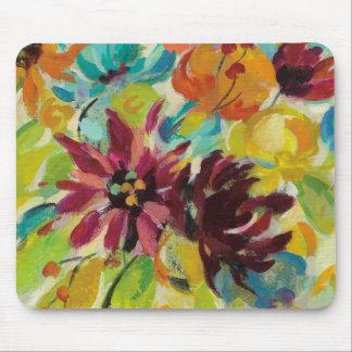 Autumn Joy Flowers Mouse Pad