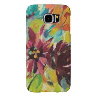 Autumn Joy Flowers Samsung Galaxy S6 Cases