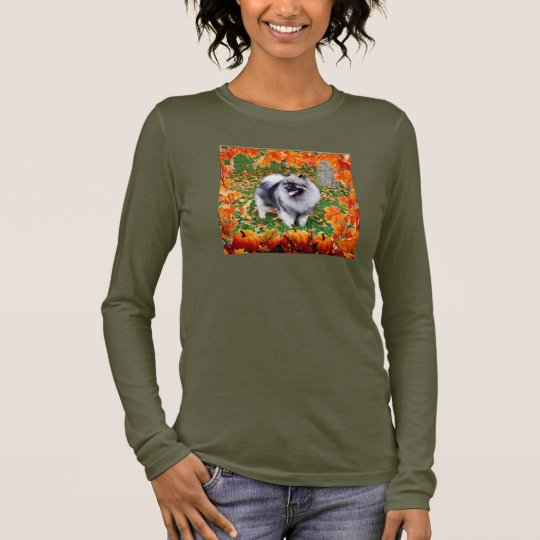 Autumn Keeshond 3 Long Sleeve T-Shirt