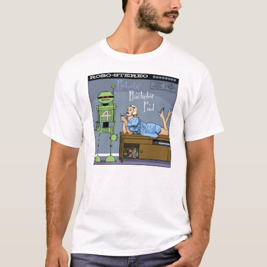 "Autumn Lake ""ROBOTIC BACHELOR PAD"" T-Shirt"