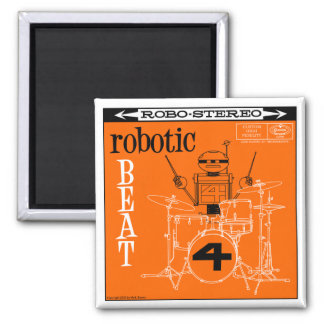 "Autumn Lake ""ROBOTIC BEAT LP"" Magnet"