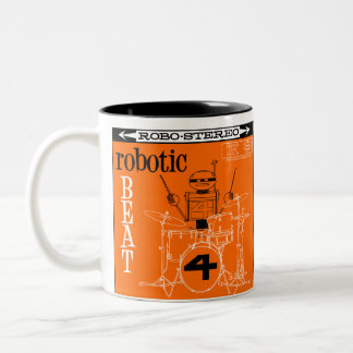 "Autumn Lake ""ROBOTIC BEAT LP"" Mug"