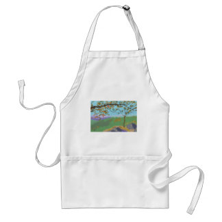 Autumn Land Art Standard Apron