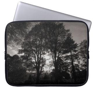 Autumn Landscape Bute Park Cardiff Laptop Sleeve