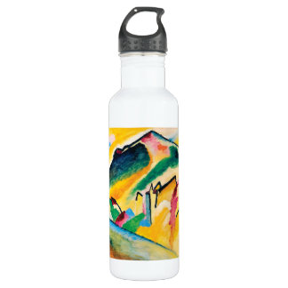 Autumn Landscape by Wassily Kandinsky 710 Ml Water Bottle