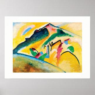 Autumn Landscape by Wassily Kandinsky Poster