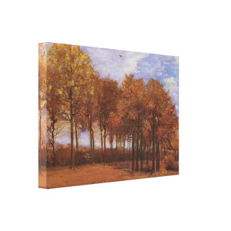 Autumn Landscape - Vincent Van Gogh Canvas Print