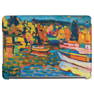 Autumn Landscape with Boats by Wassily Kandinsky Cover For iPad Air