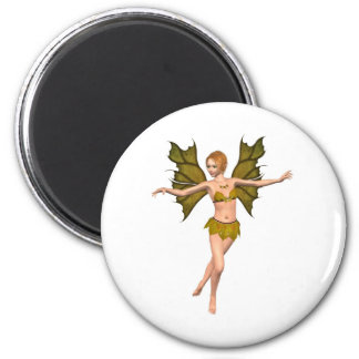 Autumn Leaf Fairy - dancing Magnet