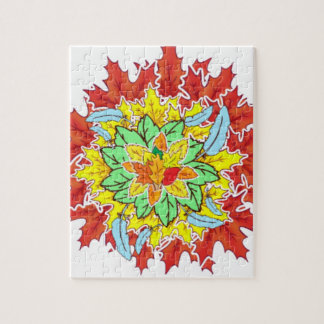 autumn leaf jigsaw puzzle