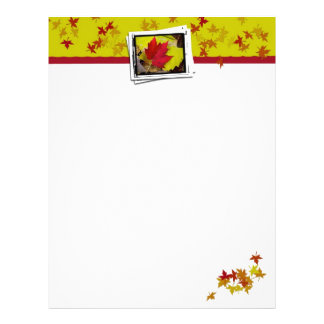 Autumn Leaf Letterhead