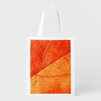 Autumn Leaf Reusable Bag