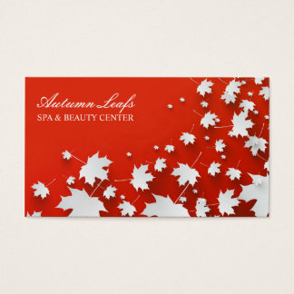 Autumn Leafs Business Card