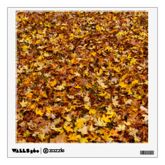 Autumn Leaves Abstact Wall Sticker