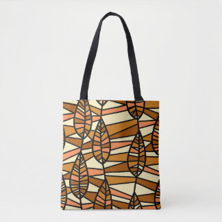 Autumn Leaves Abstract art Tote Bag
