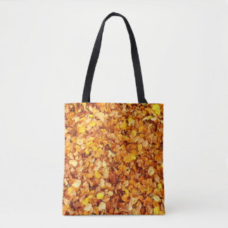 Autumn Leaves All-Over-Print Tote Bag
