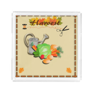 Autumn Leaves and Harvest Perfume Tray